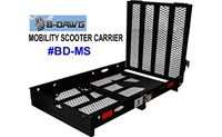 B-Dawg Mobility Scooter Carrier model BD-MS with folding ramp