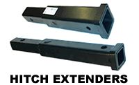 Hitch Extenders and Trailer Receiver Extensions to clear rear mounted car spare tires