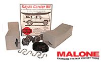 Malone Kayak foam block roof rack kit model mpg154