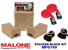 Malone Kayak Stacker Block Kit MPG169