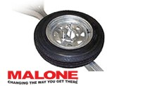 Malone Spare tire kit for microsport trailers.