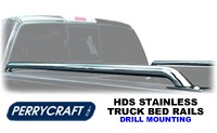 Perrycraft HDS Drill Mount Pickup Truck Bed Rails