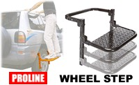 Proline Car Tire Step - collapsable and height adjustable wheel platform Step200