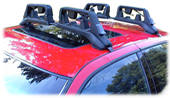 Cartop Mounted Ski and Snow board Carriers